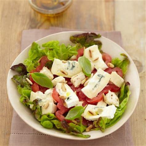 cuisiner haricot blanc salade bressane au bleu une recette salade cuisine