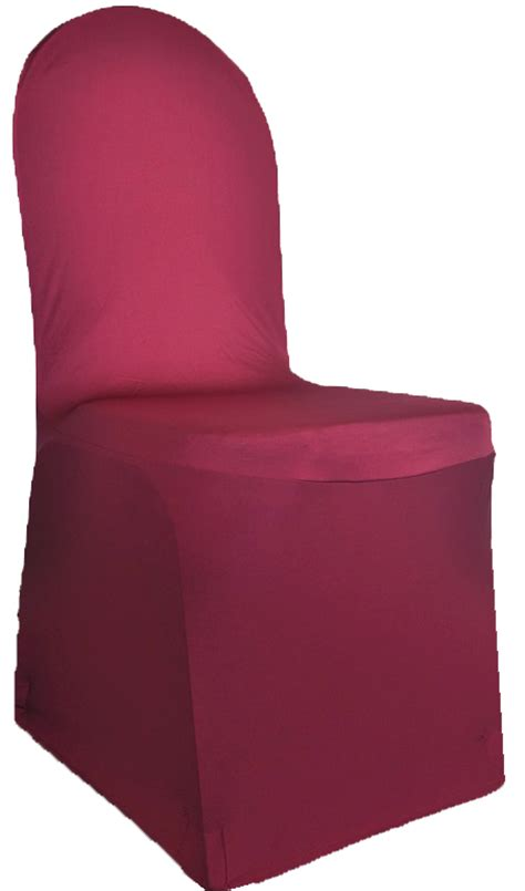 burgundy spandex stretch banquet chair covers sale