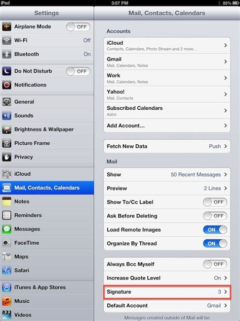 iphone email signature how to set up email signatures on your iphone or