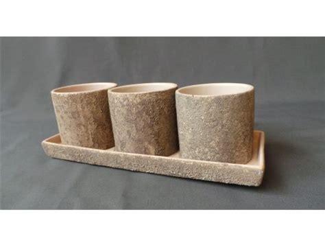 Keramikas podiņu komplekts (PU09) | Puķu podu noma ...