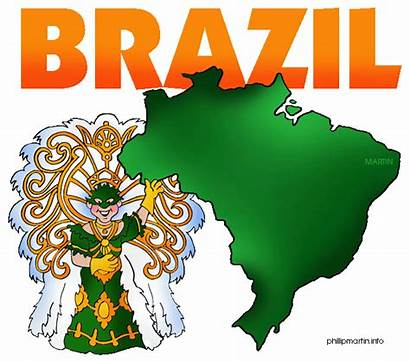 Brazil Clipart Brazilian Clip Mythology Crafts Brasil