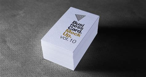 Psd Business Card Mock-up Vol10