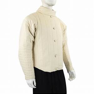 Fencing Jacket - Natural SNMC7601E - Coats and Jerkins