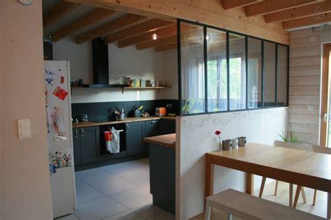 salon salle a manger cuisine ouverte cuisine équipée ouverture sur l 39 espace salle à manger