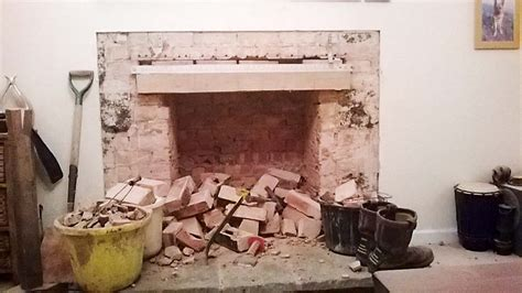 how to fix a leak under the reinstating or removing old fireplaces homebuilding