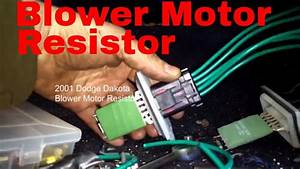 Install 2000 Dodge Durango Blower Motor Wiring Harness
