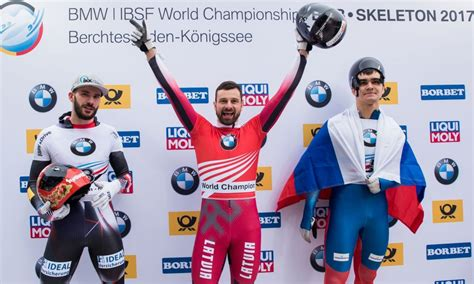 Dukurs wins fifth global crown at IBSF World Championships