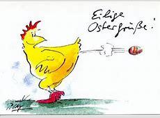 Gaymann Shop Peter Gaymann Postkarte Eilige Ostergrüße