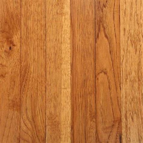 hickory solid hardwood flooring bruce take home sle hickory autumn wheat solid hardwood flooring 5 in x 7 in br 595889