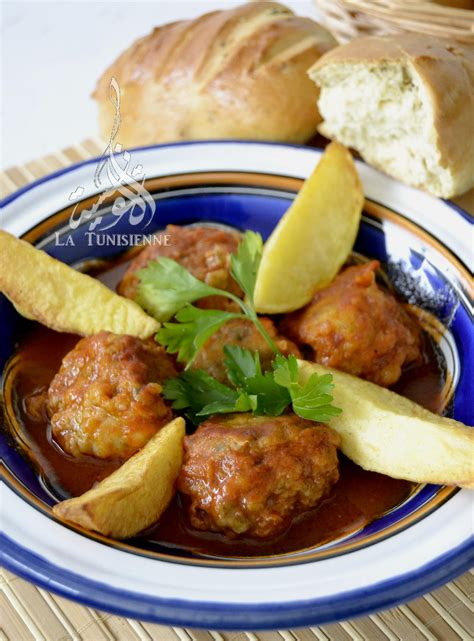 la cuisine tunisienne boulettes tunisiennes aux artichauts mbatten ganariya