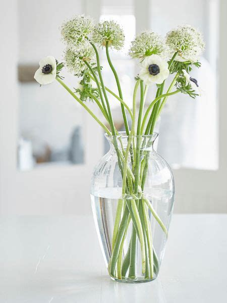 Large Glass Flower Vase by Recycled Glass Vase Large Glass Vase Nordic House