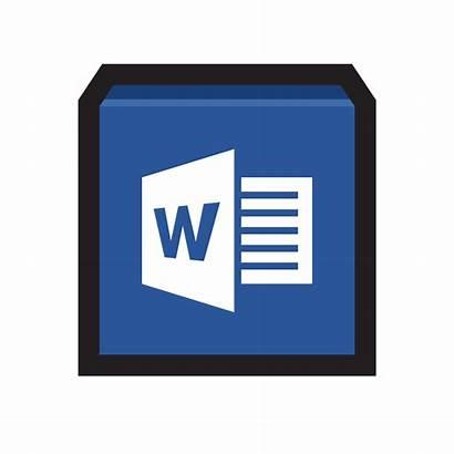 Word Microsoft Icon App Processing Processor Icons