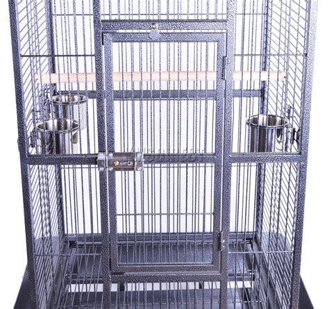 Gabbia Grande Per Uccelli - foxhunter in metallo grande gabbia per uccelli con