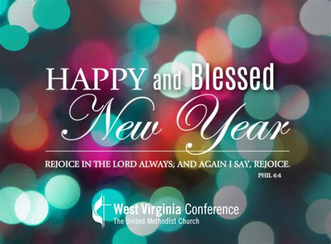 happy  blessed  year west virginia conference