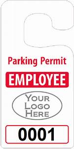 big foot parking permits jumbo size hang tags With hanging parking pass template