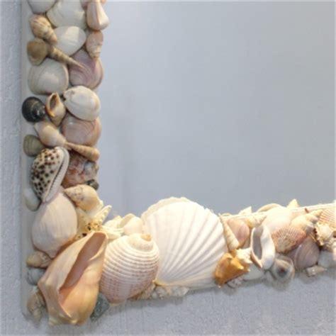 espelho  conchas  mar