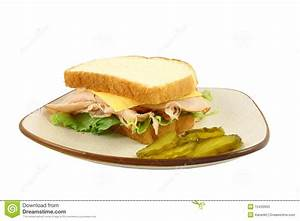 Turkey Lettuce And Cheese Sandwich Stock Photos - Image ...