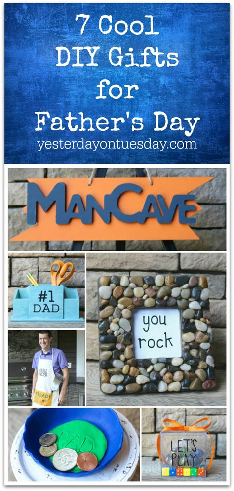 awesome handmade dads day gifts yesterday  tuesday