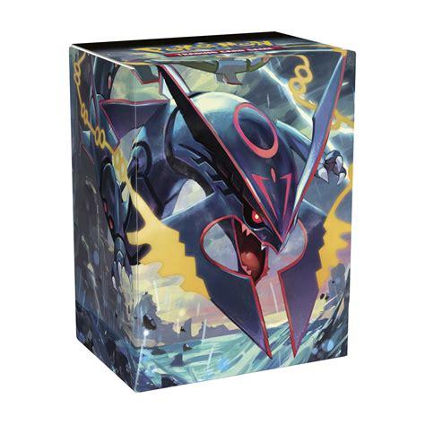 Pokémon Tcg Shiny Mega Rayquaza Deck Box  Pokémon Tcg