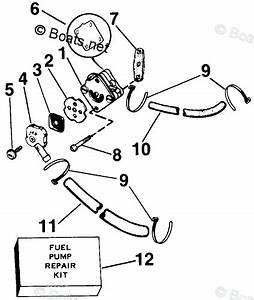 Johnson Outboard Parts By Hp 2 5hp Oem Parts Diagram For