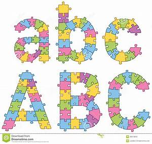 puzzle jigsaw alphabet letters stock images image 30013844 With puzzle alphabet letters