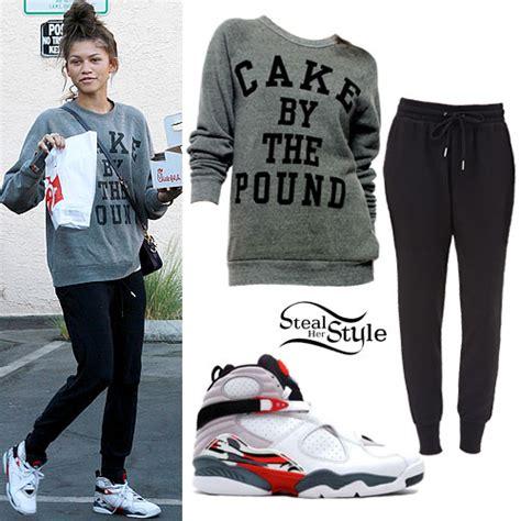 Zendaya: 'Cake By The Pound' Sweatshirt | Steal Her Style