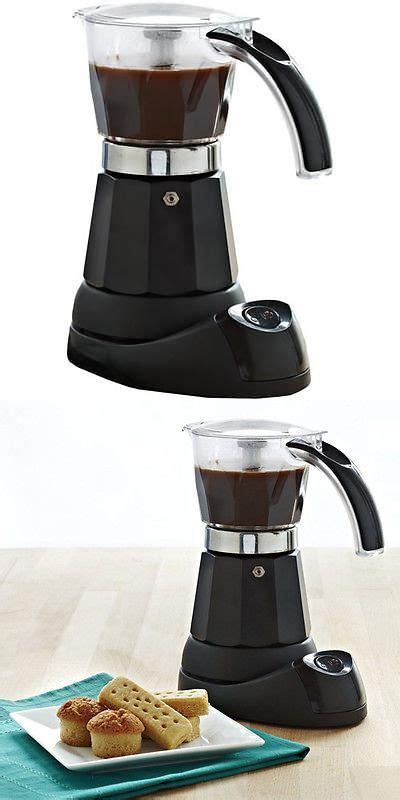 Make lattes and more with a great new espresso machine. Espresso and Cappuccino Machines 38252: Imusa B120-60006 6 Cup Electric Moka Espresso Maker ...
