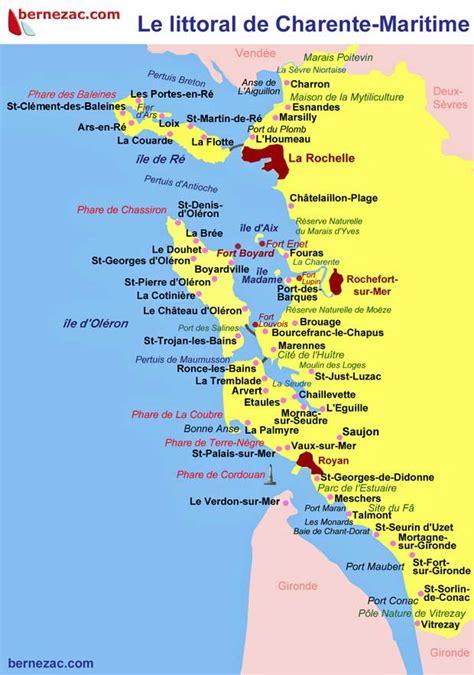 Carte De Plage Atlantique by Infos Sur 187 Cote Atlantique Carte 187 Vacances Arts