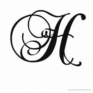 Calligraphy Alphabet Romantic H | Calligraphy | Pinterest ...