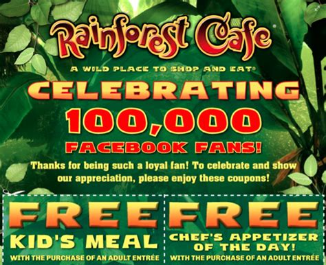 45492 Sta Travel Uk Promo Code by Rainforest Cafe Coupon Codes 2018 Deals Harleys