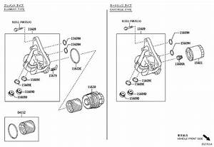 2017 Toyota Corolla Im Cap Assembly  Oil Filter