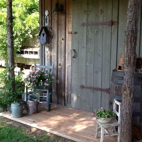 The Best Rustic Shed Ideas Pinterest