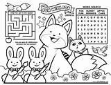 Coloring Activity Placemat Restaurant Restaurants Deviantart Sheets Sheet Placemats Stupidfox Eychanchan Fox sketch template