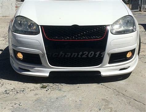 frp abt style front lip fit for 04 08 volkswagen vw golf