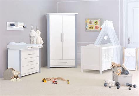 chambre a coucher pas chere chambre bébé pas chère cocoon design blanche et grise