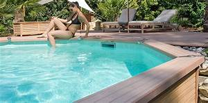Piscine Hors Sol Composite : piscine hors sol bois avec terrasse excellent piscine ~ Dode.kayakingforconservation.com Idées de Décoration