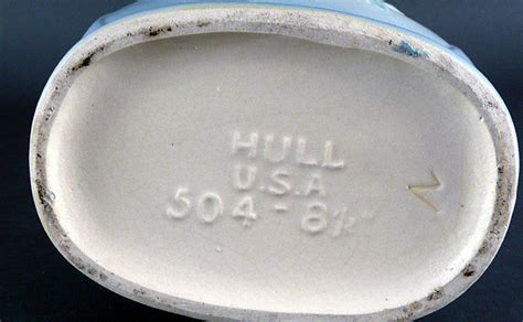 hull pottery price guide signatures