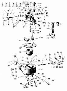 Zenith S33 Carburetor Kit  Float And Manual