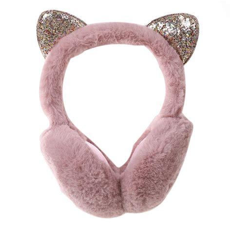 ears cat cartoon warm ear winter earmuffs