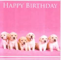 Happy Birthday Lab Puppies