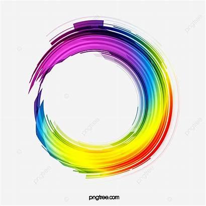 Circle Colorful Dream Clipart Circles Diaphragm Psd