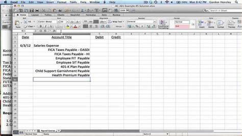 payroll journal entry templates secure paystub
