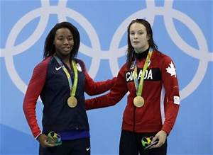 Amazing dead heat in women's 100m freestyle sees USA and ...