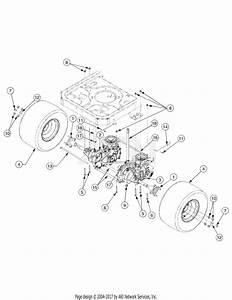 Troy Bilt 17af2acp766 Mustang Rzt 50  2007  Parts Diagram