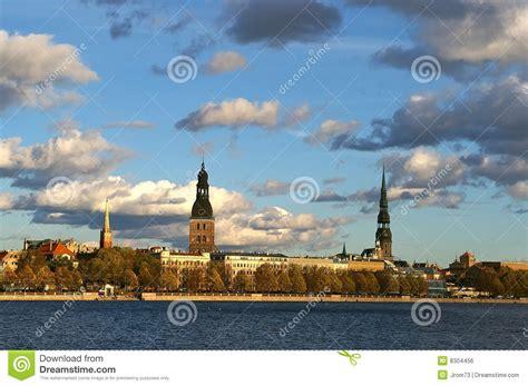 Riga old ( Latvija ) stock photo. Image of image, history ...