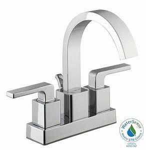 Glacier Bay 1500 Series 4 Inch Bath Faucet