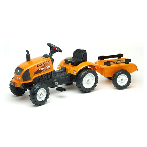 air reserver siege tracteur renault avec remorque falk king jouet voitures