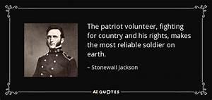 TOP 25 QUOTES B... Stonewall Jackson Brainy Quotes