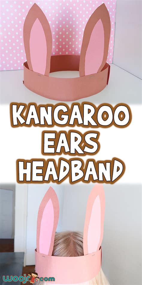 kangaroo ears headband woo jr kids activities