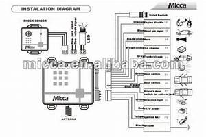 Car Alarm Installation Wiring Diagram Collection